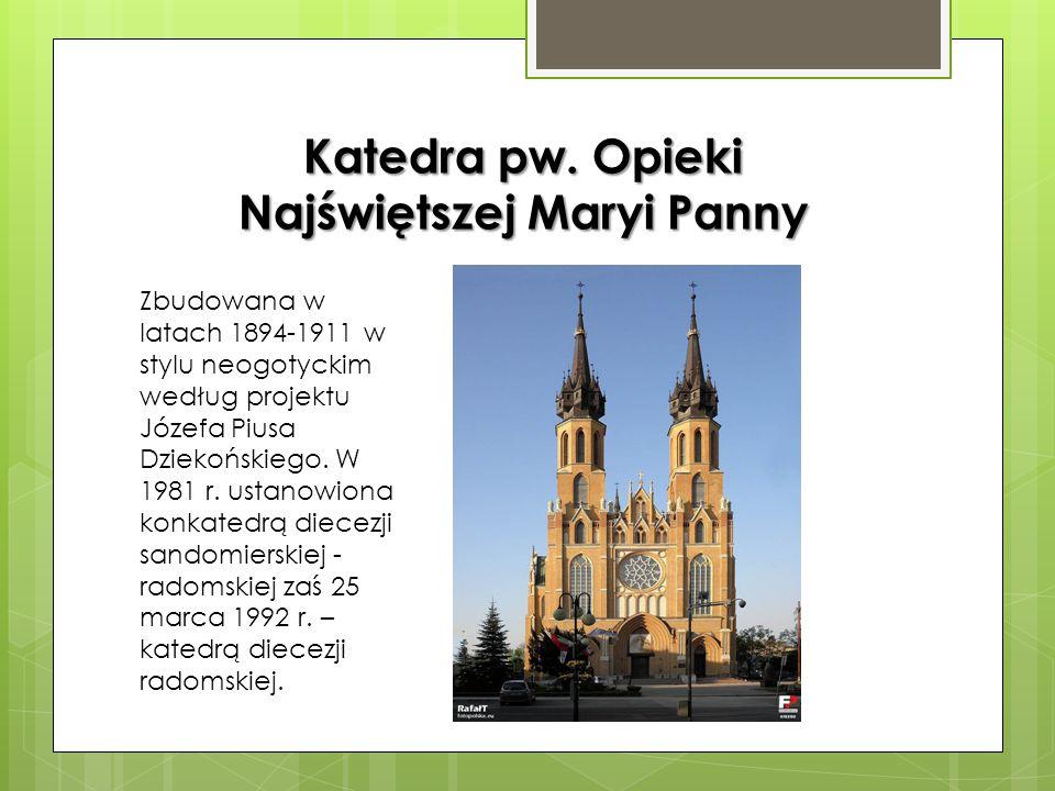 """Loża Masońska W tym budynku zbudowanym wg projektu Jakuba Kubickiego, działała w latach 1816- 1821 loża masońska """"Jutrzenka Wschodząca"""", założona w Ra"""