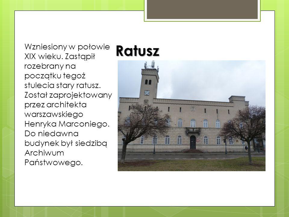 Katedra pw. Opieki Najświętszej Maryi Panny Zbudowana w latach 1894-1911 w stylu neogotyckim według projektu Józefa Piusa Dziekońskiego. W 1981 r. ust