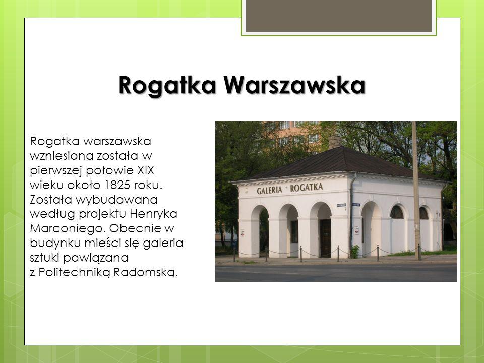 """Apteka """"Pod Białym Orłem"""" Piętrowa kamienica została wybudowana w 1835 roku według projektu polskiego malarza i architekta Stefana Balińskiego (ucznia"""