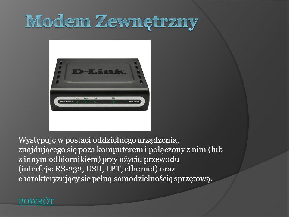 Występuje w postaci tzw.Karty Rozszerzeń Karta rozszerzeń z 4 portami USB na złączu PCI Karta rozszerzeń (ang.