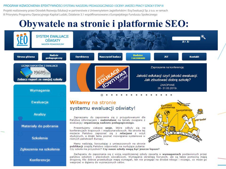 Obywatele na stronie i platformie SEO:
