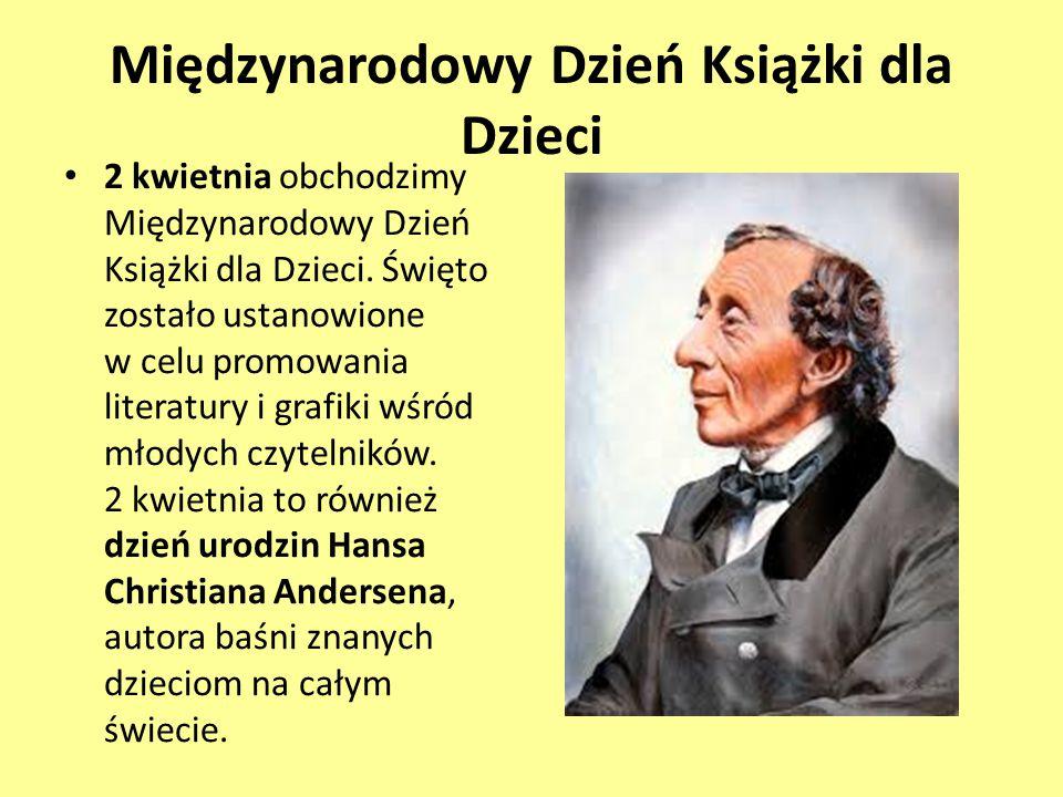 Hans Christian Andersen duński pisarz i poeta, najbardziej znany ze swej twórczości baśniopisarskiej.