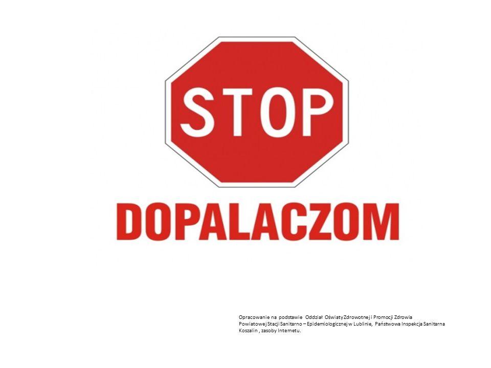 Opracowanie na podstawie Oddział Oświaty Zdrowotnej i Promocji Zdrowia Powiatowej Stacji Sanitarno – Epidemiologicznej w Lublinie, Państwowa Inspekcja