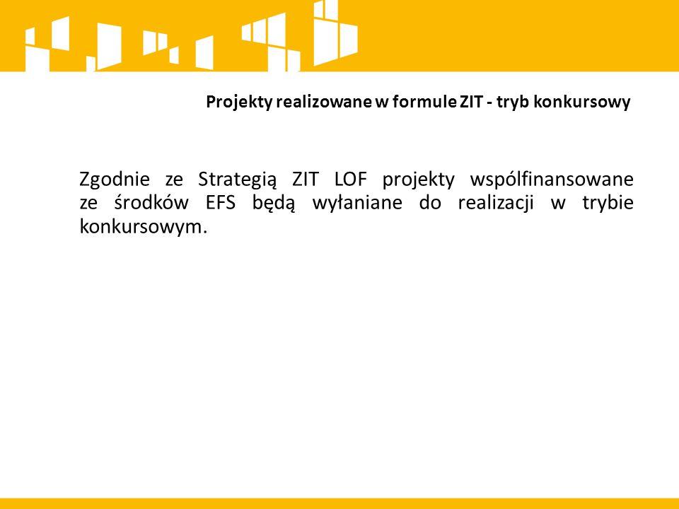 Realizacja projektów przez jednostki samorządu Terytorialnego w tym w formule ZIT W RPO wskazane zostały priorytety inwestycyjne, w których możliwa jest realizacja projektów w formule ZIT, jak również przez jednostki samorządu terytorialnego.