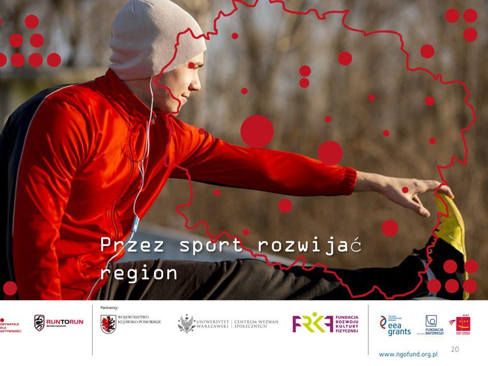Przez sport rozwijać region 20