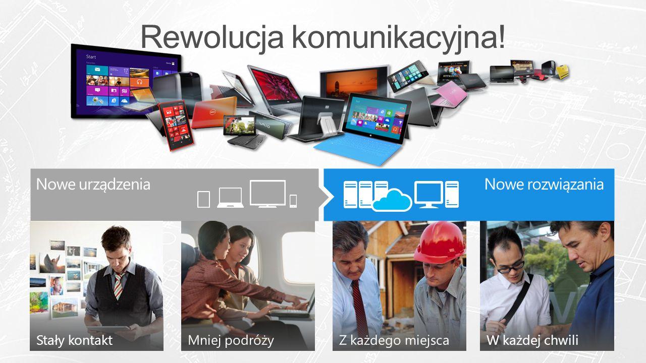 Devices & Experiences Users Want Enterprise-Grade Solutions Nowe rozwiązaniaNowe urządzenia W każdej chwiliStały kontakt