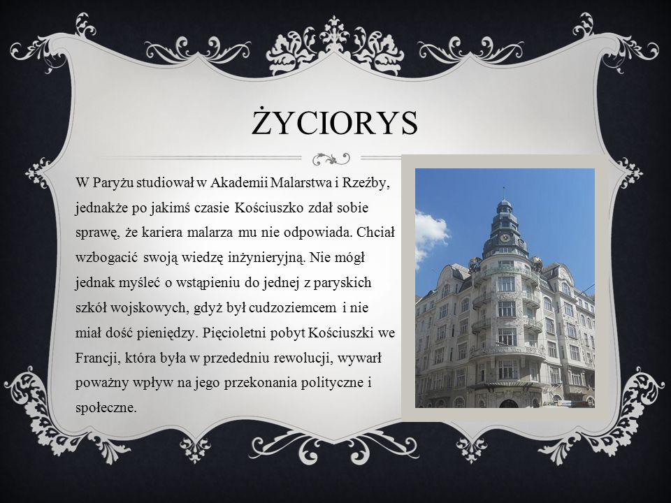 Powrót do ojczyzny Latem 1775 r.Tadeusz wrócił do kraju.