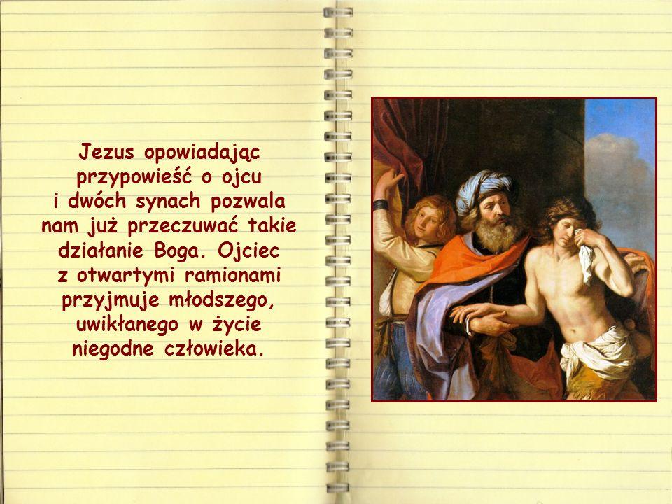 A Bóg przeciwnie, zamiast karać – stąd wielkie zdumienie św. Pawła – przywraca życie: nie pozwala, by powodował Nim gniew, lecz miłosierdzie i miłość.