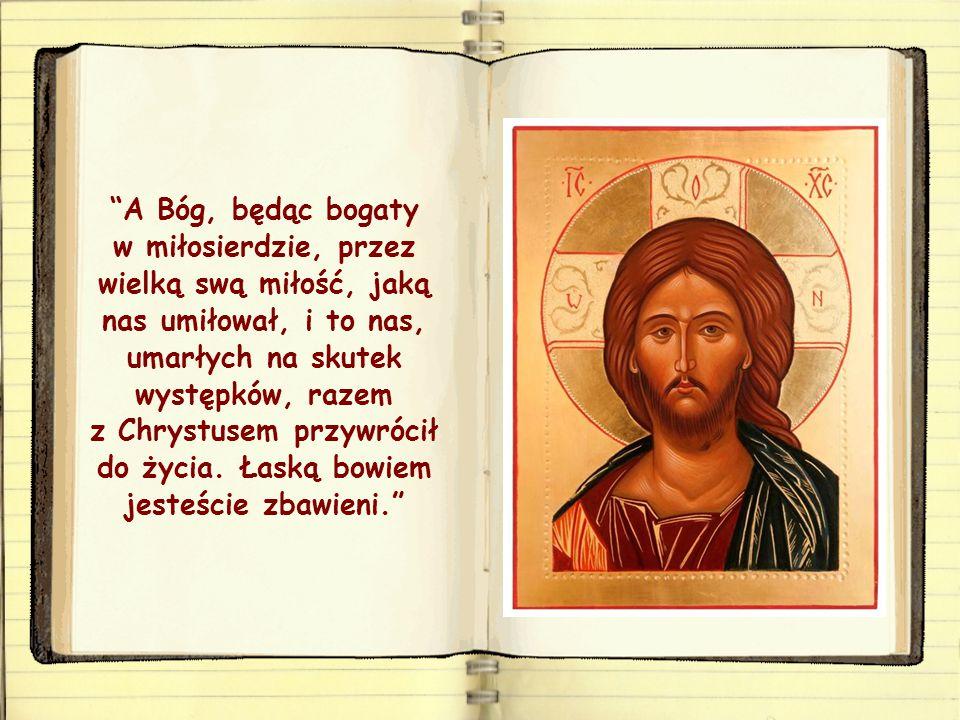 Bóg, Ojciec miłosierny, którego miłosierdzie symbolizują te przypowieści, nie tylko nam przebaczył, lecz obdarzył nas życiem swego Syna Jezusa, obdarz