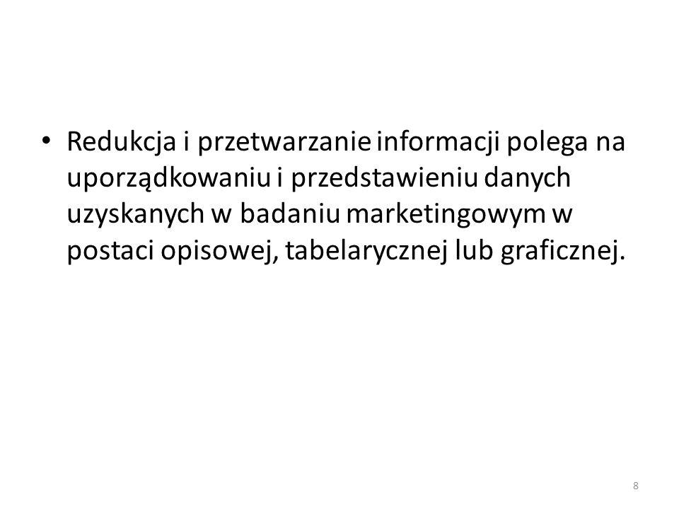 Warunki interpretacji informacji 4.Wybór języka, w jakim informacja będzie interpretowana.