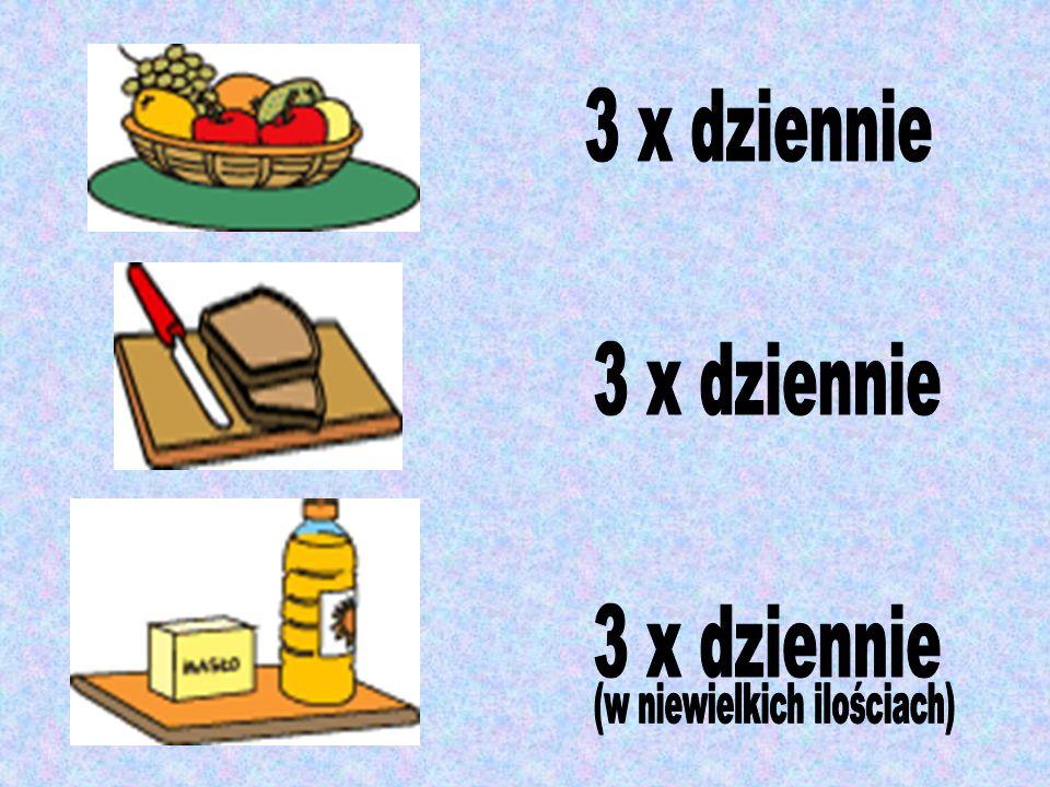 5. Dzieciom nie należy podawać a) chipsów, frytek b) żywności typu fast-food c) słodyczy d) używek