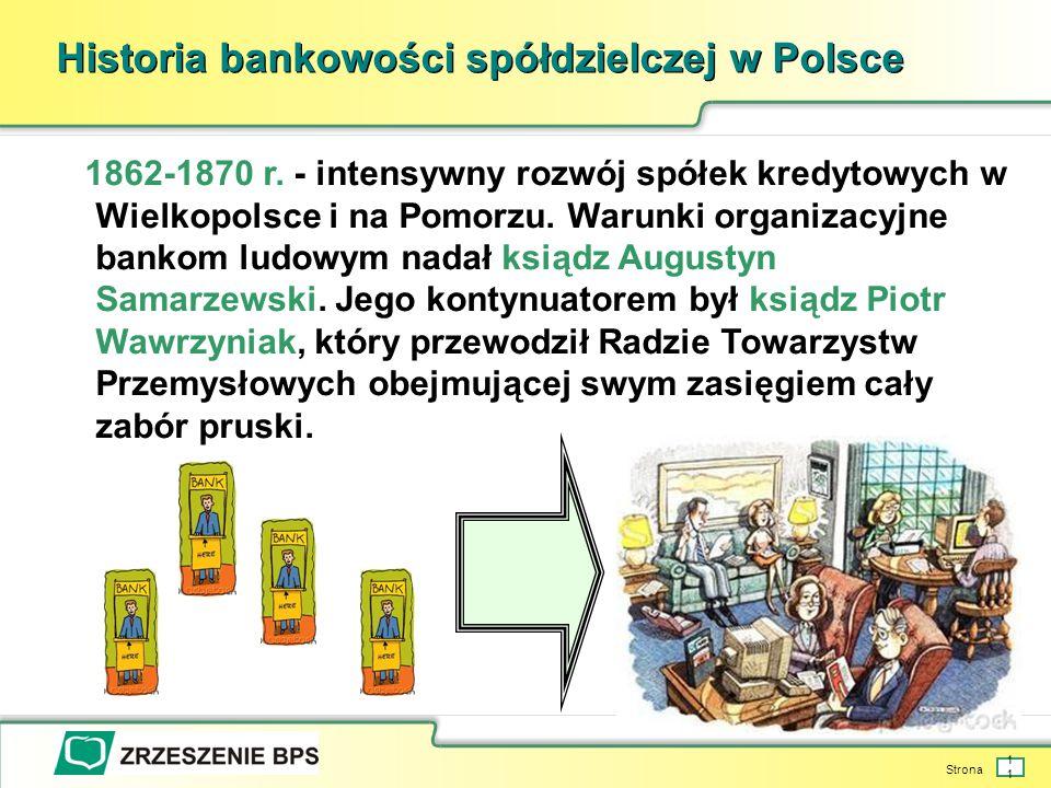 Strona 11 Historia bankowości spółdzielczej w Polsce 1862-1870 r.