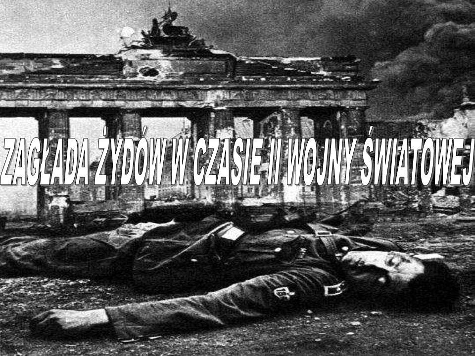Szacuje się, że z 8-9 milionów ludności żydowskiej mieszkającej w Europie w obozach zginęło około 5-6 milionów.