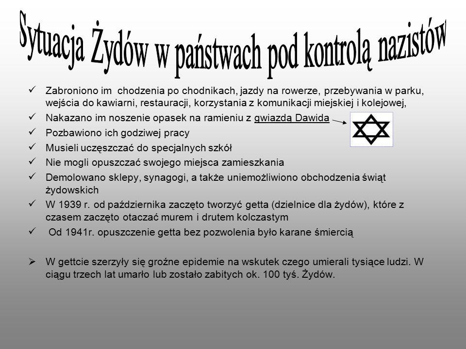 Armia Krajowa nawiązała kontakt z organizacją bojową w getcie warszawskim - ŻOB (Żydowska Organizacja Bojowa).