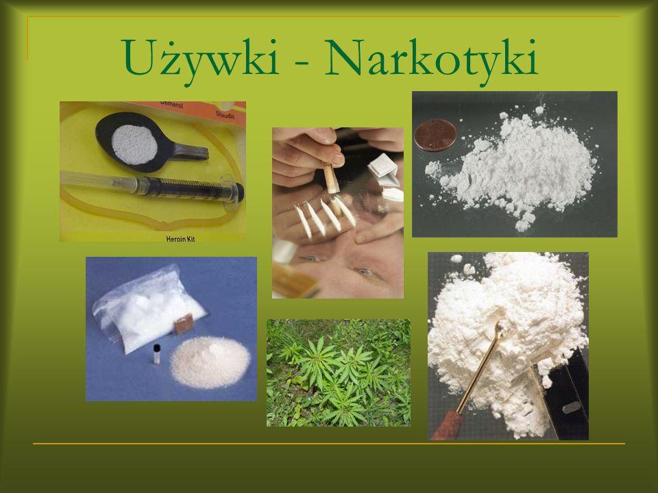 Używki - Narkotyki