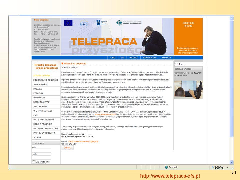 34 http://www.telepraca-efs.pl