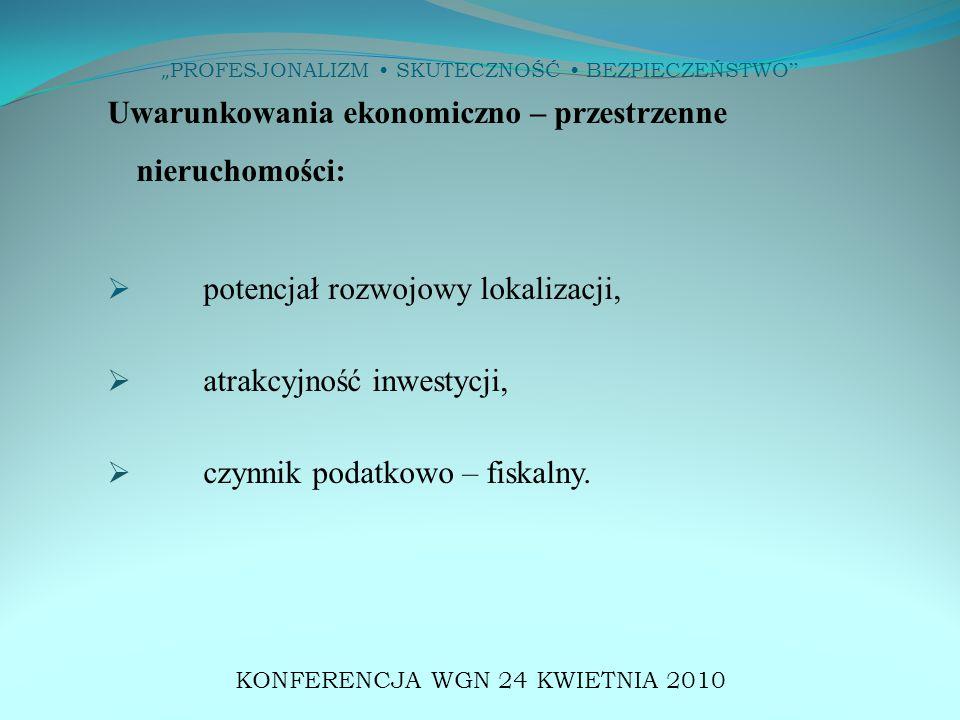 """"""" PROFESJONALIZM SKUTECZNOŚĆ BEZPIECZEŃSTWO ANALIZA POTRZEB KLIENTÓW KONFERENCJA WGN 24 KWIETNIA 2010"""