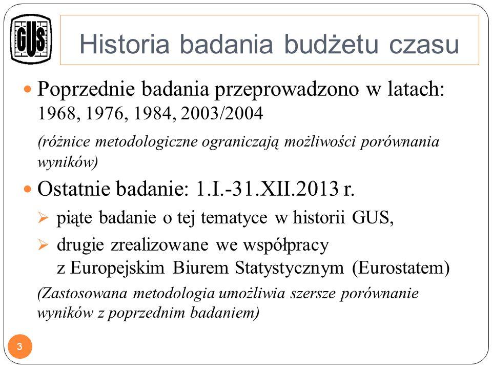 CHARAKTERYSTYKA BADANIA Badanie zgodnie z zaleceniami Eurostatu jest prowadzone co 10 lat W 2013 r.