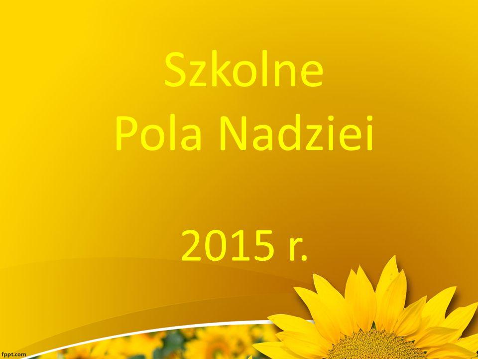 Szkolne Pola Nadziei 2015 r.