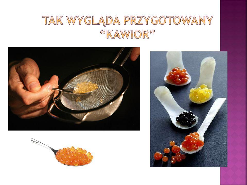 Pami ę tajmy jednak, ż e poza pasjonuj ą c ą, naukow ą stron ą tworzenia da ń kuchni molekularnej, jej sens le ż y zupe ł nie w czym innym.
