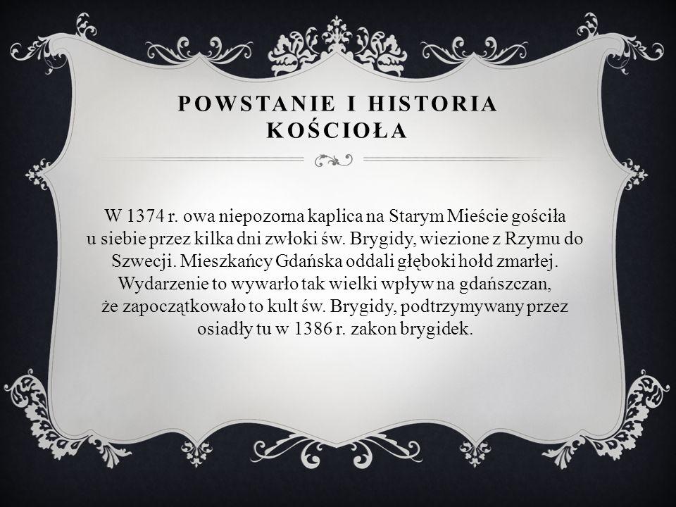 POWSTANIE I HISTORIA KOŚCIOŁA W 1374 r.