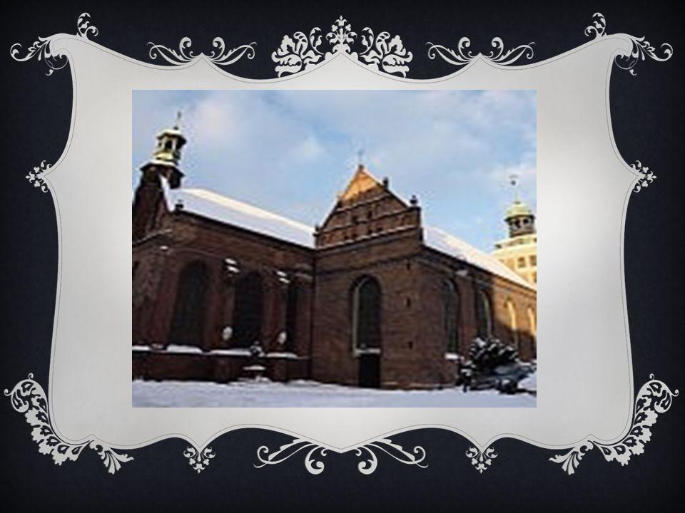 POWSTANIE I HISTORIA KO Ś CIOŁA W latach 1615-1616 nadano renesansowy wystrój wieży, którą w 1674 r.