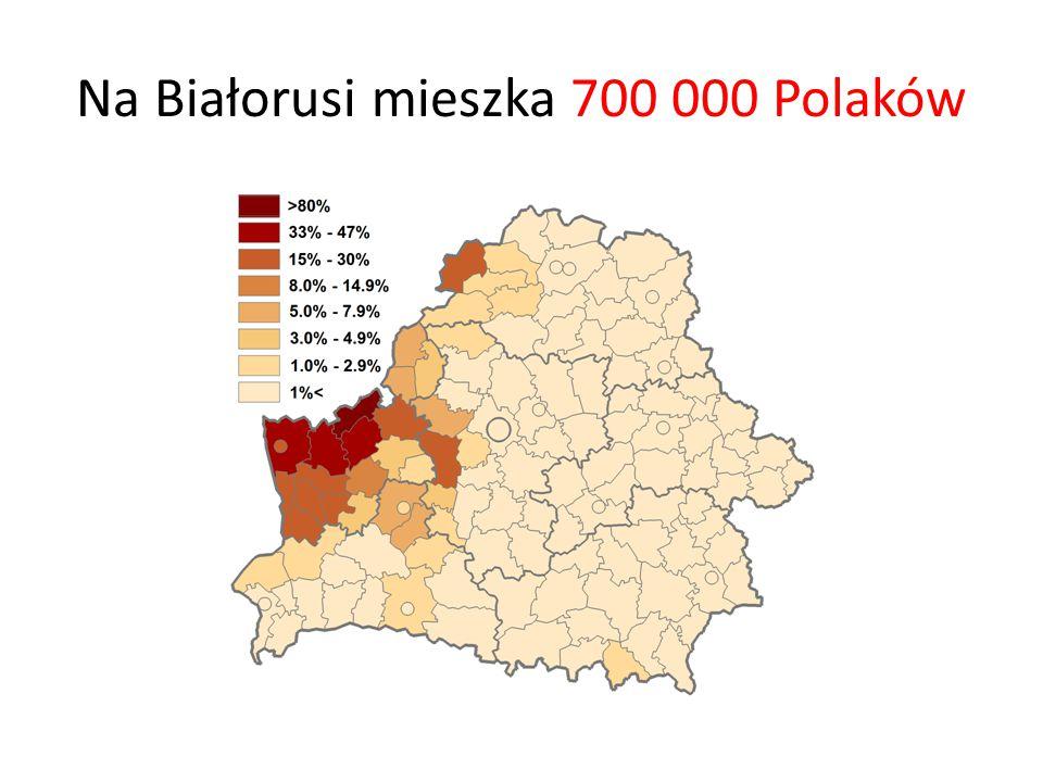 Na Białorusi mieszka 700 000 Polaków