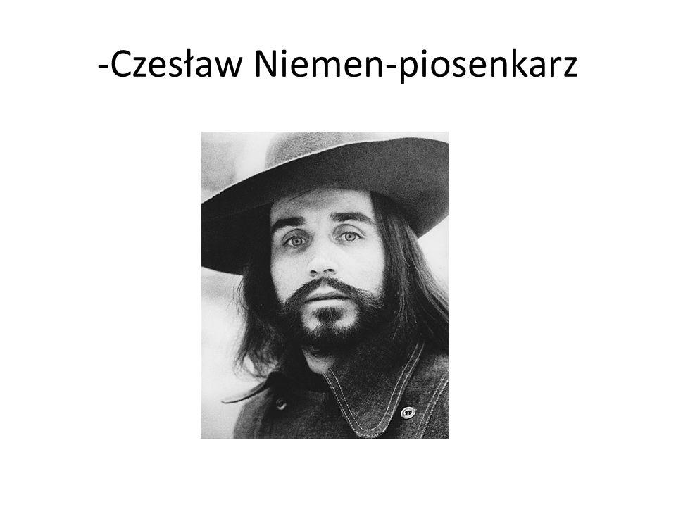 -Czesław Niemen-piosenkarz