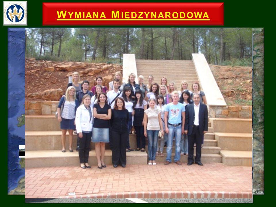 W YMIANA M IĘDZYNARODOWA Erasmus+ umowy pomiędzy Uczelniami Bułgaria, Cypr, Finlandia, Francja, Włochy, Rosja, Słowacja, Turcja