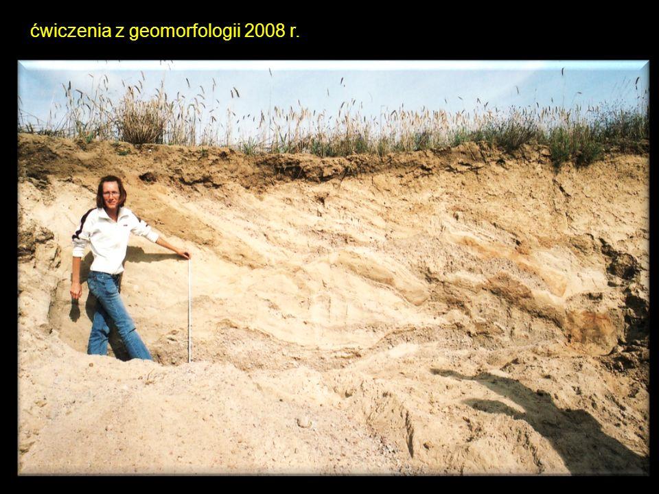 ćwiczenia z geomorfologii 2008 r.