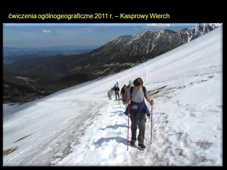 ćwiczenia ogólnogeograficzne 2011 r. – Kasprowy Wierch