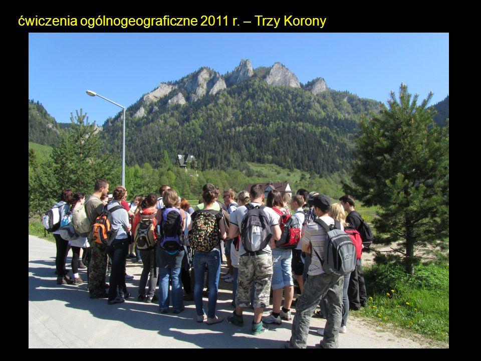 ćwiczenia ogólnogeograficzne 2011 r. – Trzy Korony
