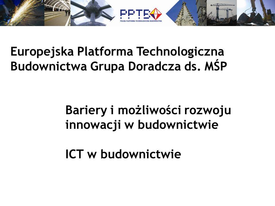 Europejska Platforma Technologiczna Budownictwa Grupa Doradcza ds.