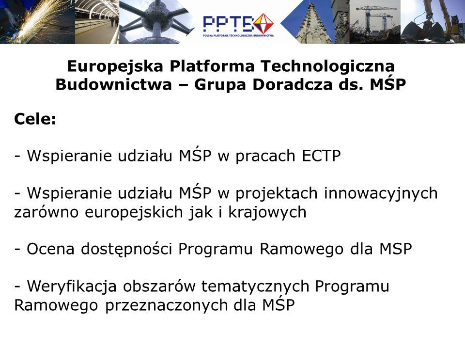 Europejska Platforma Technologiczna Budownictwa – Grupa Doradcza ds.