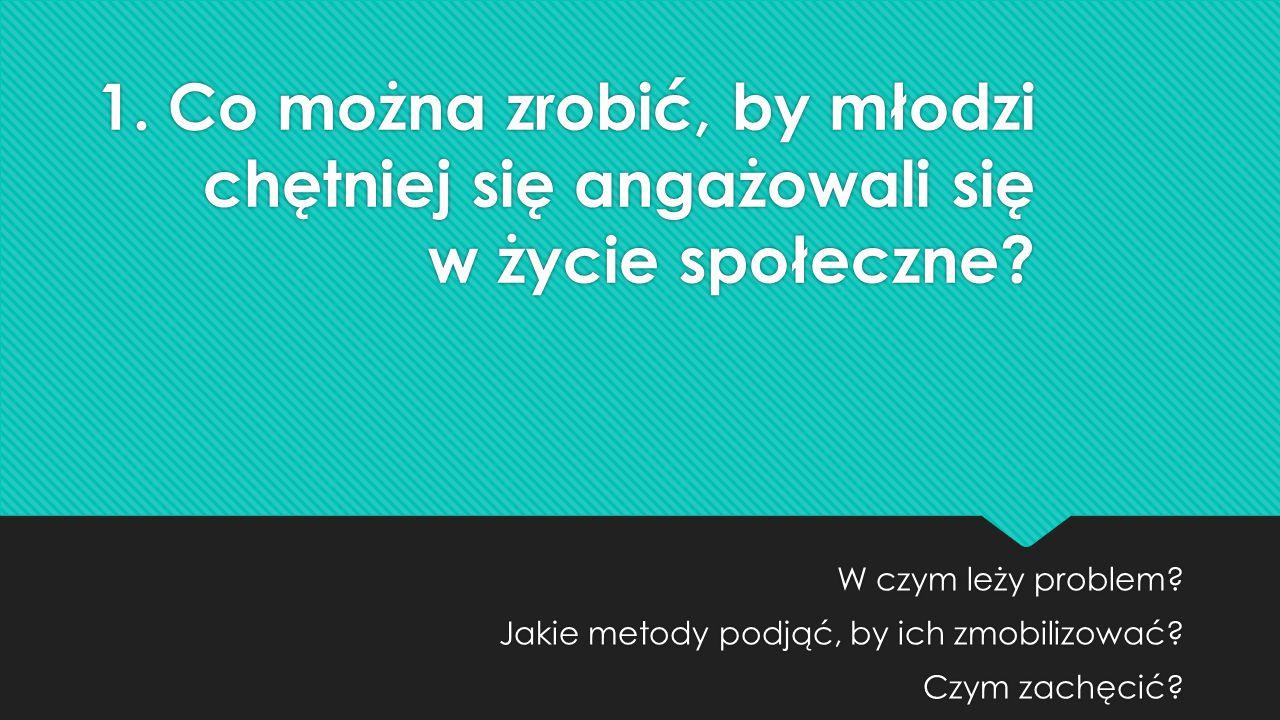 2.Jak zmienić myślenie dorosłych i władz wobec młodzieży.