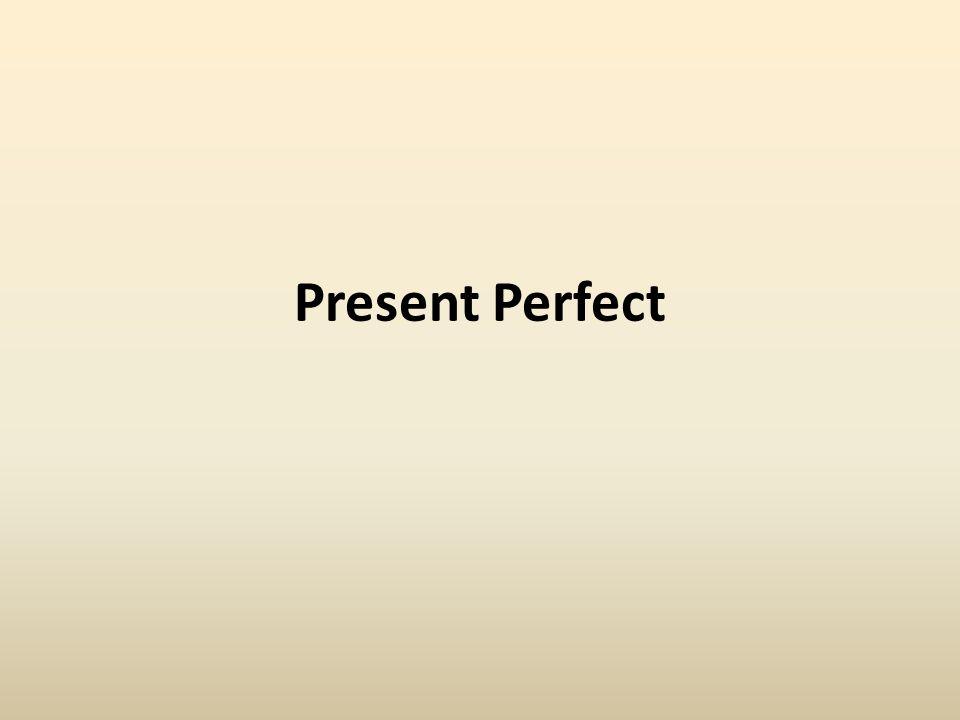 Czas Present Perfect tworzymy za pomocą: czasownika HAVE (I, you, we, they) lub HAS (he, she, it) i tzw.