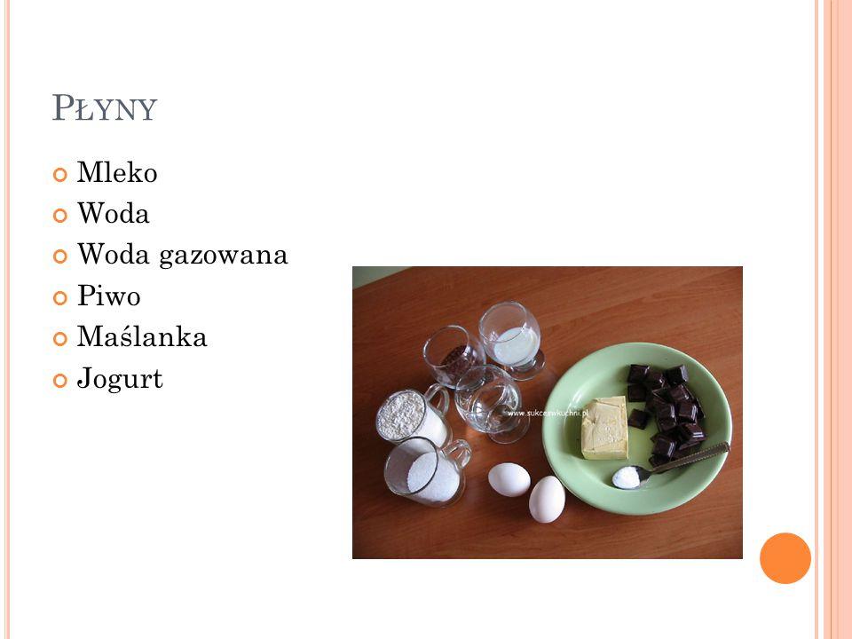 C UKIER LUB INNE ŚRODKI SŁODZĄCE Cukier biały Cukier brązowy Miód Syrop klonowy Melasa Syrop z agawy