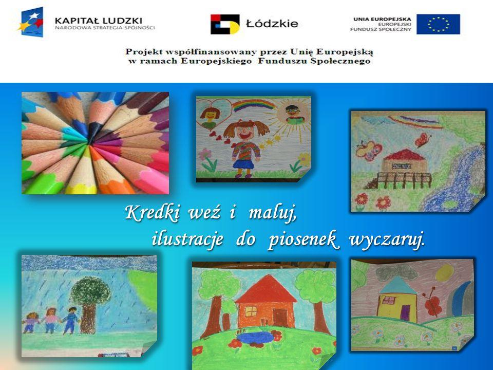 Projekt współfinansowany przez Unię Europejską w ramach Europejskiego Funduszu Społecznego Propozycje szaty graficznej płyty