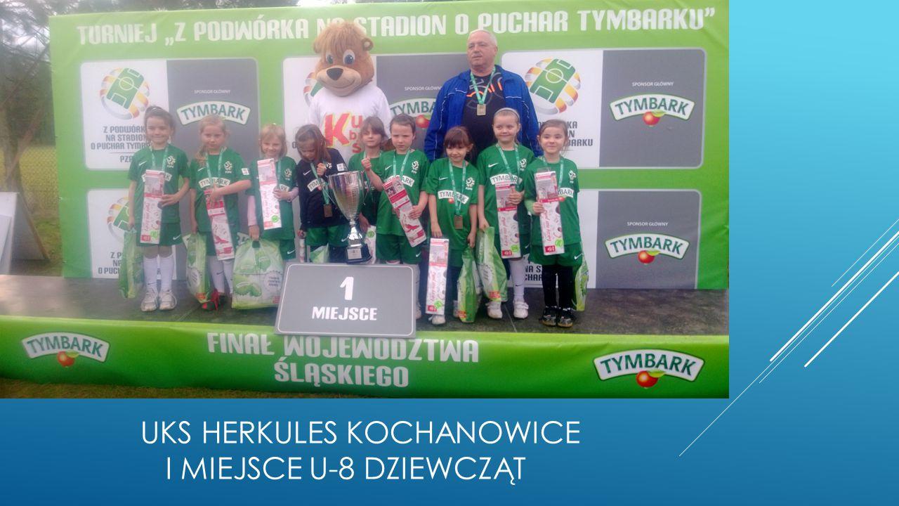 Kategoria U-10 1.MUKP Dąbrowa Górnicza1. UKS Tygryski Świętochłowice 2.
