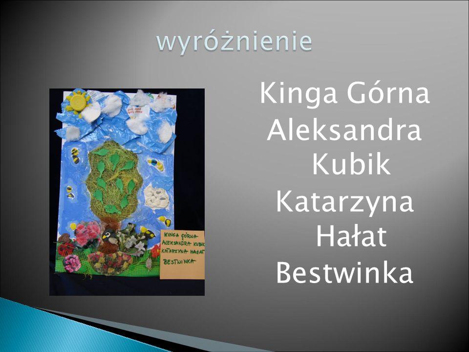 Kinga Górna Aleksandra Kubik Katarzyna Hałat Bestwinka