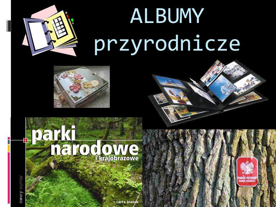 ALBUMY przyrodnicze