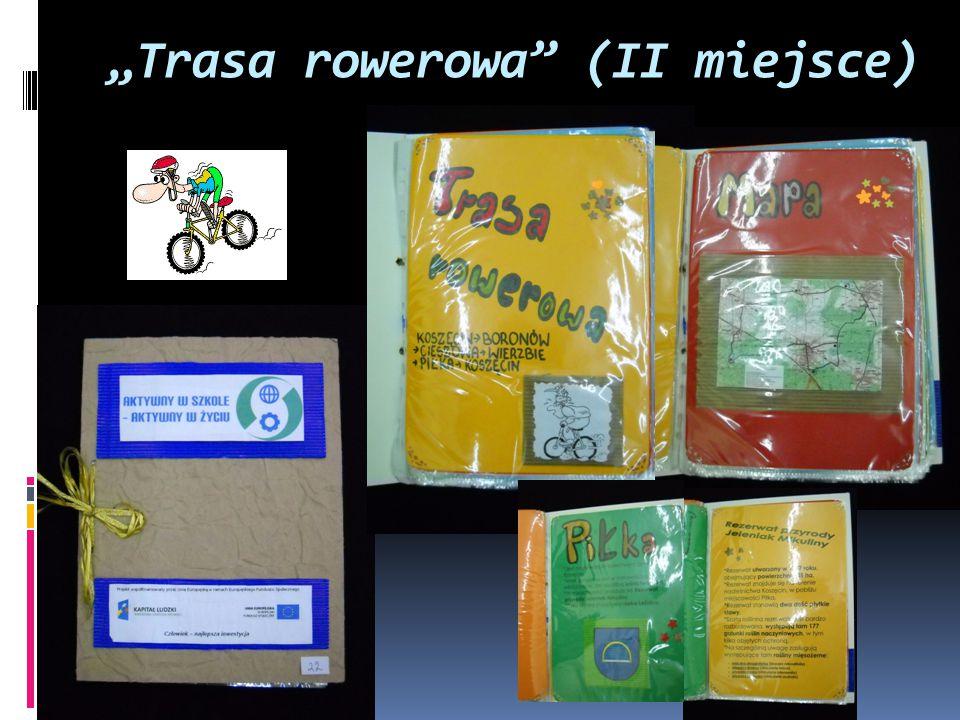 """""""Trasa rowerowa"""" (II miejsce)"""