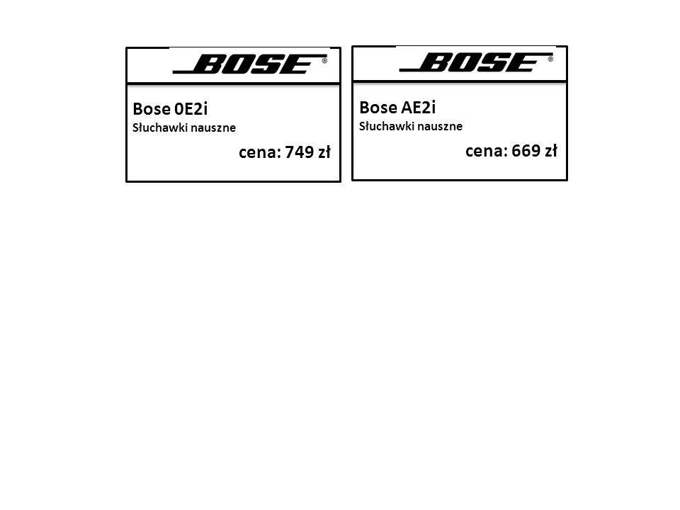 Bose 0E2i Słuchawki nauszne cena: 749 zł Bose AE2i Słuchawki nauszne cena: 669 zł