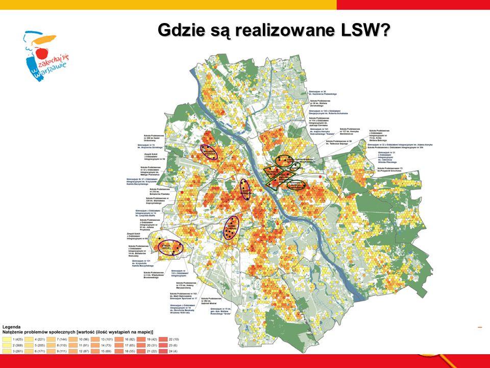 Gdzie są realizowane LSW