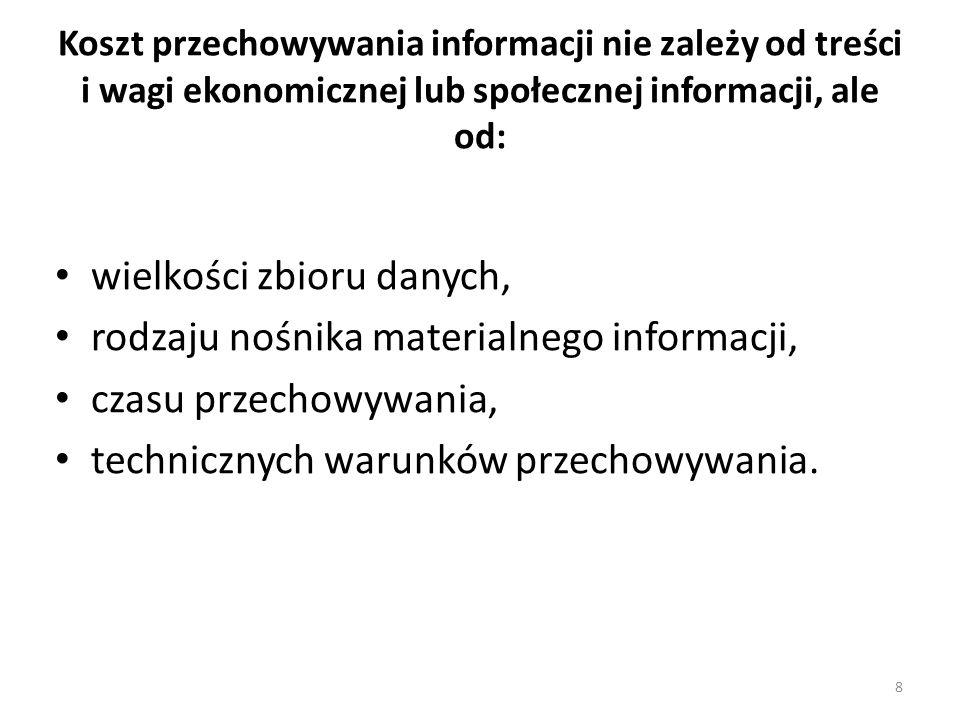Wszystkie informacje w bazie danych powinny być aktualne i pełne, gdyż np.