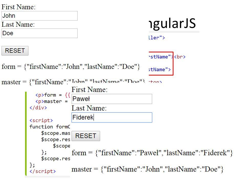 Formularze w AngularJS