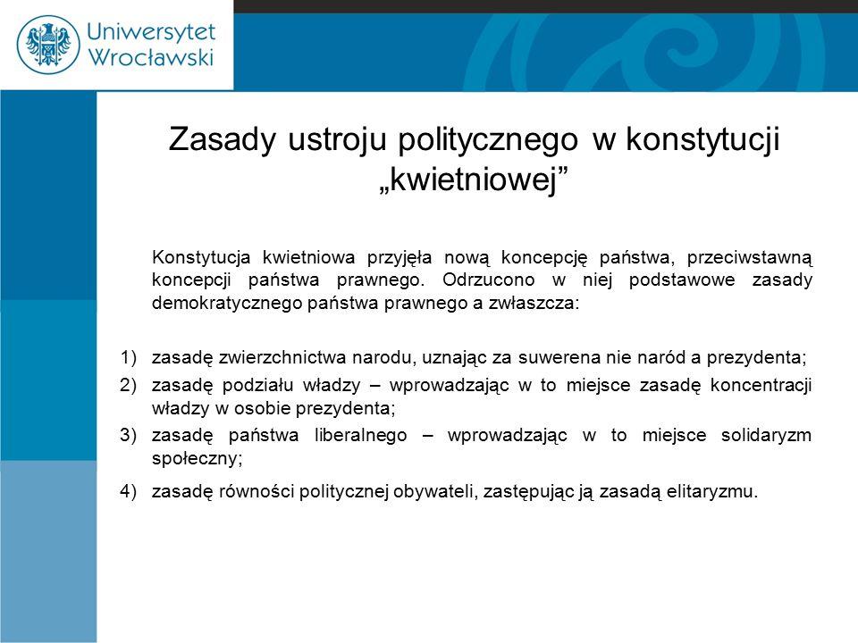Sejm i senat Sejm: -208 posłów z wyborów powszechnych, tajnych, równych i bezpośrednich, -kandydaci zgłaszani przez Zgromadzenie Okręgowe, -czynne prawo wyborcze: obywatele, którzy ukończyli 24 lata i korzystają z praw cywilnych i obywatelskich oraz zawodowi wojskowi, -bierne: obywatelom, którzy ukończyli 30 lat, -kadencja 5 lat.