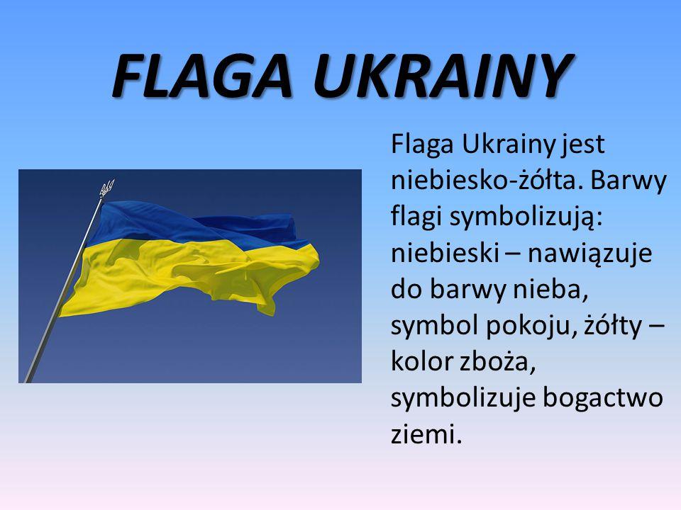 OGÓLNE INFORMACJE O UKRAINIE Na Ukrainie mieszka ok. 45mln ludzi. Stolicą jest Kijów. Przez Ukrainę przepływa rzeka Dniestr. Walutą na Ukrainie jest H