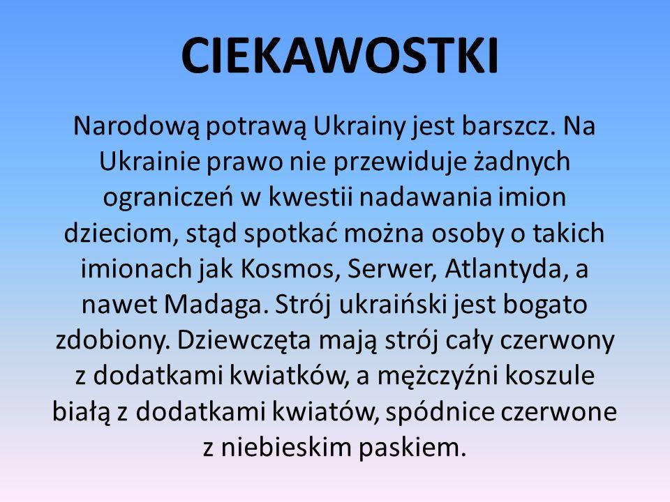 PREZYDENT UKRAINY Prezydentem Ukrainy jest Petro Poroszenko. Jest on prezydentem od 7czerwca 2014roku.