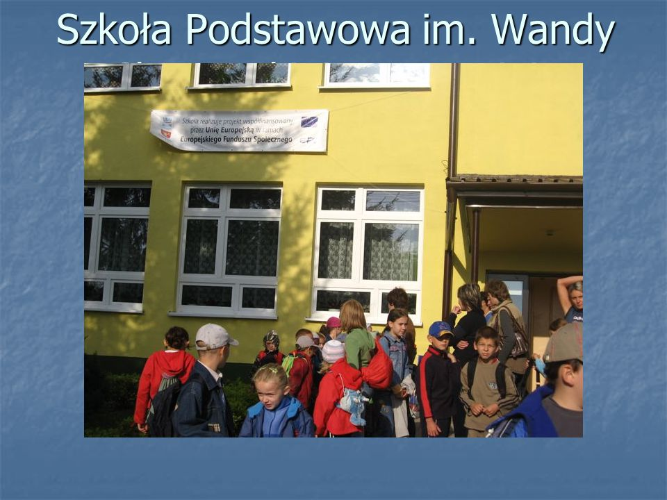 Szkoła Podstawowa im. Wandy Chotomskiej w Bogucinie